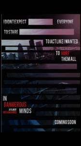 In Dangerous Minds 2016