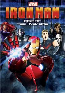 Железный Человек: Восстание Техновора (видео) 2013